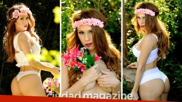 Las fotos hot de Barbie Silenzi, la reina de la primavera. (Foto: Musepic)