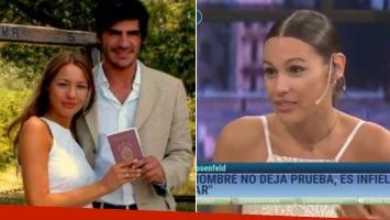 Pampita habló de su escandaloso divorcio de Barrantes y su condena por adulterio