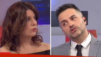 La divertida discusión entre Ángel de Brito y Andrea Taboada