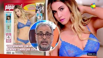 Jorge Rial le contestó a Flor Vigna