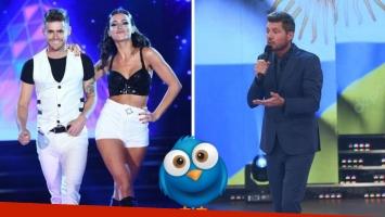 Gastón Soffritti y Agustina Agazzani se van de Bailando 2017, y Marcelo Tinelli los comprendió. (Foto: Ideas del Sur)