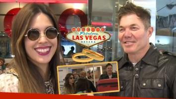 Barby Franco y Fernando Burlando, reconciliación... ¡y casamiento en Las Vegas!