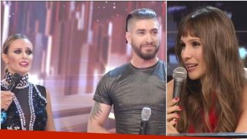El puntaje de Pampita a Melina Lezcano en ShowMatch, luego de exigirle una mejoría (Fotos: Captura)