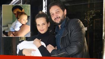 La foto súper tierna de Germán Paoloski con su bebé de 4 meses