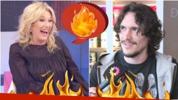 El comentario hot de Yanina Latorre a Juan Sorini en Los Ángeles de la Mañana (Foto: Captura)