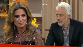 ¡Incomodísimo momento en TV! Fuerte reacción de Flavia Palmiero ante un picante comentario Andy: ¡mirá cuál fue la frase de la discordia!