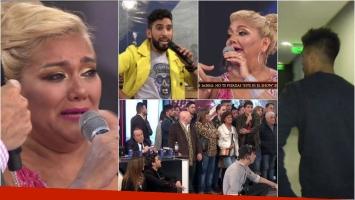 Escándalo en ShowMatch con Gladys La Bomba: se peleó con Gabo Usandivaras y Tyago Griffo se fue del estudio