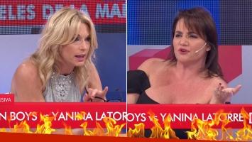 ¡Fuerte exabruto al aire! Yanina Latorre explotó contra Nancy Pazos: