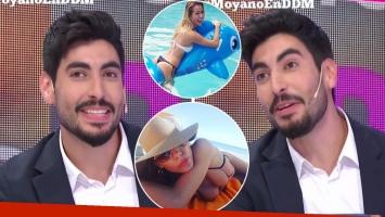 Facundo Moyano reveló su amor adolescente por Nicole Neumann