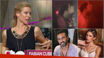 Nicole Neumann, picante sobre las fotos de Cubero con Eva Bargiela: