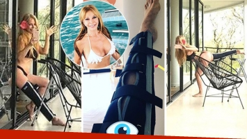 Graciela Alfano y su rehabilitación en bikini. (Foto: Instagram)