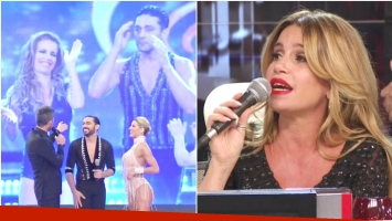 La chicana de Flor Peña a Píquin tras su espectacular baile en ShowMatch (Fotos: Captura)