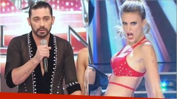 Hernán Piquin, crítico con Melina Lezcano en el Bailando: