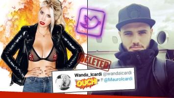 ¡Segundo desplante en 15 días! Wanda le envió un romántico tweet a Icardi… ¡y él nunca se lo respondió!: mirá qué decía el mensaje que eliminó