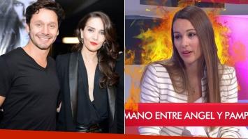 La pregunta sin filtro de Ángel de Brito a Pampita sobre el rumor de infidelidad de Vicuña y Natalia Oreiro