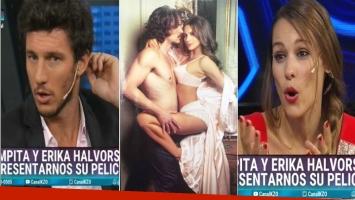 La revelación de Pampita, en una entrevista con Pico Mónaco sobre sus escenas hot con Juan Sorini: