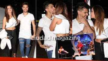 Tyago Griffo y Rocío Robles, súper enamorados en el show de Jey Mammon (Foto: Movilpress)