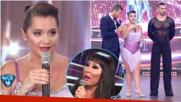El descargo de Nancy Pazos en ShowMatch luego de que Moria Casán hablara de su belleza real (Fotos: Captura)