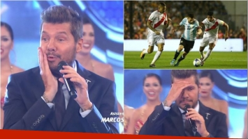 Mirá qué dijo Marcelo Tinelli en ShowMatch tras el empate de Argentina con Perú: