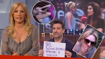 Yanina Latorre abandonó un móvil de Este es el Show, ofendida porque le recordaron la amenaza de Susana Roccasalvo: