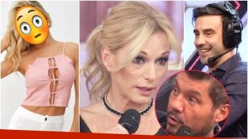 La bomba de Yanina Latorre sobre Fede Hoppe y Macarena Rinaldi que tiró en ShowMatch (Fotos: Captura, Instagram y Web)