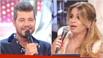 El comentario de Flor Peña que puso en aprietos a Marcelo Tinelli en ShowMatch (Fotos: Captura)