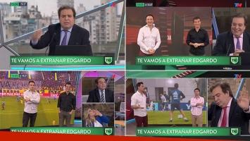 """El homenaje de TN Deportivo al periodista """"gruñón"""" Edgardo Antoñana"""