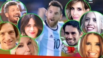 Argentina se metió en el Mundial Rusia 2018 y los famosos celebraron en Twitter el triunfo de la Selección
