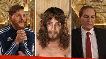 El desopilante sketch de Martín Bossi como Messi, Bilardo, el Papa y Jesús que se hizo viral
