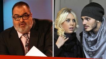 El chiste de Jorge Lanata sobre Mauro Icardi que molestó a Wanda Nara