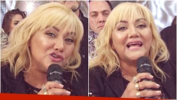 El tremendo descargo de Gladys La Bomba Tucumana contra su familia en ShowMatch (Fotos: Captura)