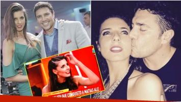 La declaración de amor de Matías Alé a Tamara Bella tras aparecer en TV (Fotos: Instagram)