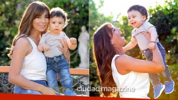 Ximena Capristo en su primer Día de la Madre con Félix. (Fotos: Musepic)