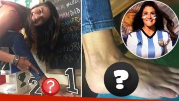 Ivana Nadal cumplió su promesa de tatuarse si Argentina clasificaba al Mundial: ¡inmortalizó el nombre de su...
