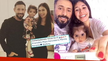 Mariana de Melo anunció que está embarazada nuevamente: ¡Felices los cuatro!