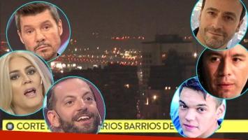Impresionante corte de luz en Buenos Aires: los tweets de los famosos (Fotos: Captura y Web)