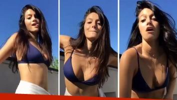 Oriana Sabatini bailó Mimala a pura sensualidad