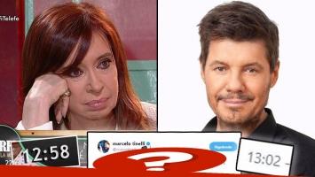 El emoción de Cristina Fernández al hablar de Néstor Kirchner… y el picante tweet de Marcelo Tinelli