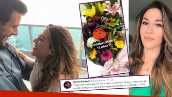 Juan Martín del Potro le envió un regalo desde China a Jimena Barón por el Día de la Madre ¡y ella le agradeció...