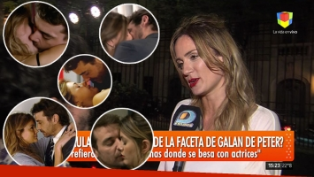 Paula Chaves, celosa por las escenas románticas de Pedro Alfonso