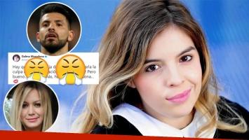 Dalma Maradona y un explosivo tweet sobre la ruptura del Kun Agüero y La Princesita: Hay que ser muy hija de p......