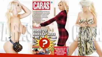Wanda, tapa al desnudo en Caras , picantes confesiones… ¿y exceso de Photoshop? Foto: Caras