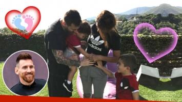 Lionel Messi y Antonela Roccuzzo tendrán… ¡otro varón!