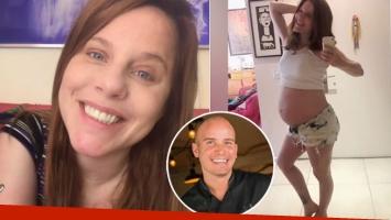 El divertido pedido de Agustina Kämpfer, en la semana 40 de embarazo