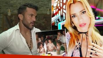 Fabián Cubero habló de su postal familiar con Nicole Neumann
