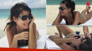 Las fotos playeras de Paola Krum en México: bikini sexy y cuerpazo sol