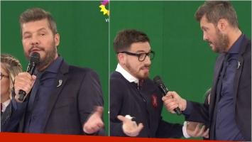 Tinelli puso en aprietos a Fede Bal en ShowMatch: