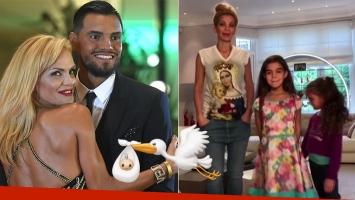 Eliana Guercio será mamá por tercera vez