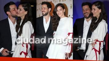 José Bianco y su bella novia modelo, enamorados en la fiesta de Los Más Clickeados 2017