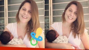 Agustina Kämpfer y un emotivo video con su bebé recién nacido: Estamos aprendiendo un montón